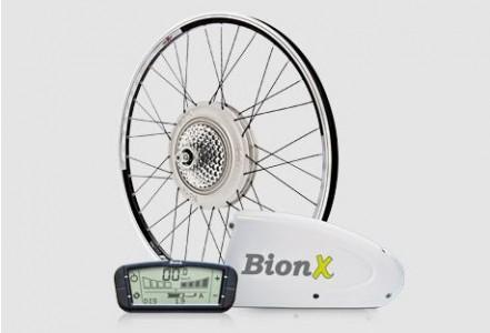 BionX elektromos kerékpár átépítő készlet