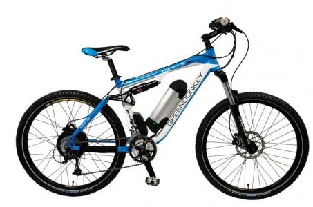 Greendonkey elektromos kerékpár 2012