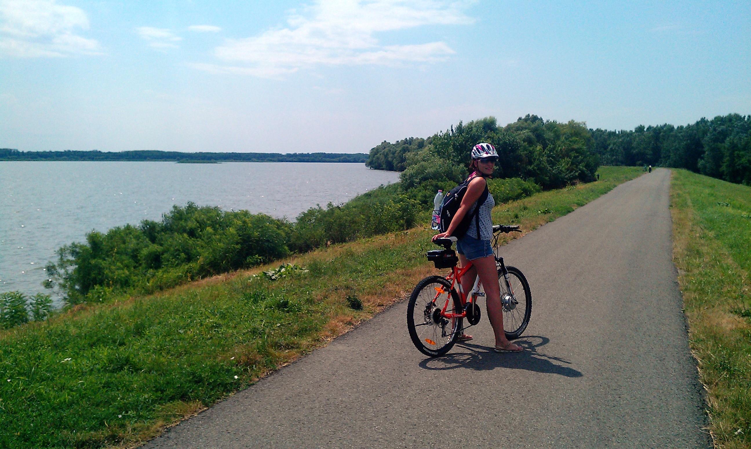 Elektromos kerékpár túra a Tisza-tó körül