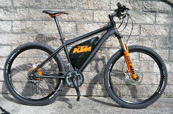 KTM elektromos kerékpár Panasonic motorral