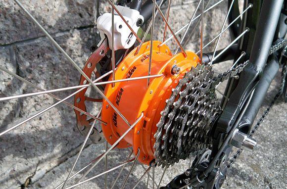 KTM elektromos kerékpár Panasonic agymotorja