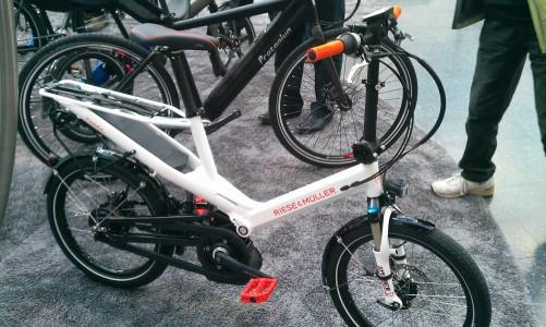 Riese und Müller kompakt elektromos kerékpár
