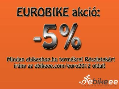 Eurobike 2012 vásári akció!