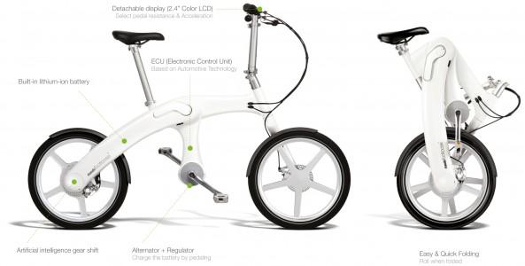 Mando Footloose elektromos kerékpár műszaki paraméterek
