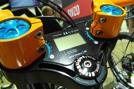 conway-s-rider elektromos kerékpár kijelző