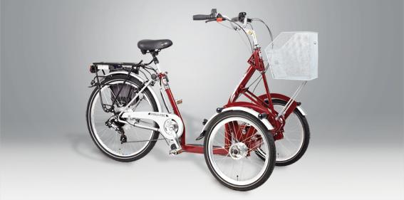 pfiff_primo_heinzmann elektromos háromkerekű kerékpár