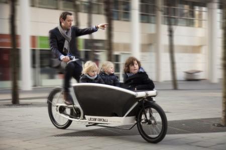 urbanarrow elektromos tehersállító kerékpár