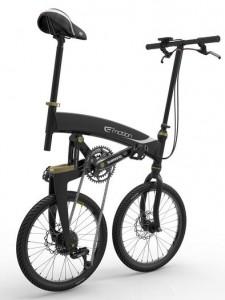 Volt elektromos kerékpár HÉV-re hajtva