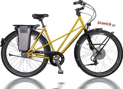 Utopia_Kranich elektromos kerékpár