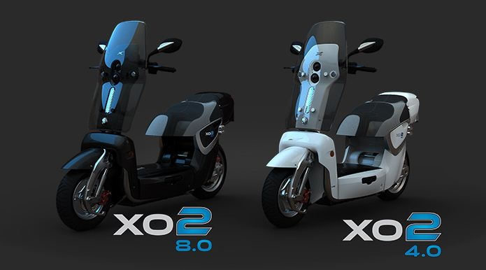 x02 elektromos robogó