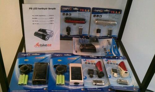 LED kerékpár lámpa