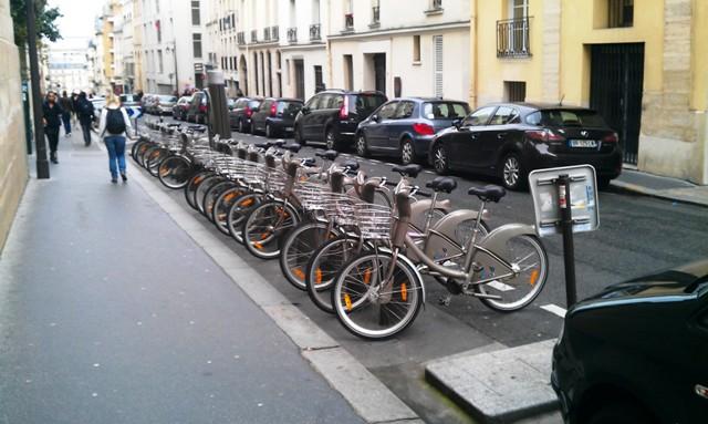 velolib kerékpár kölcsönző