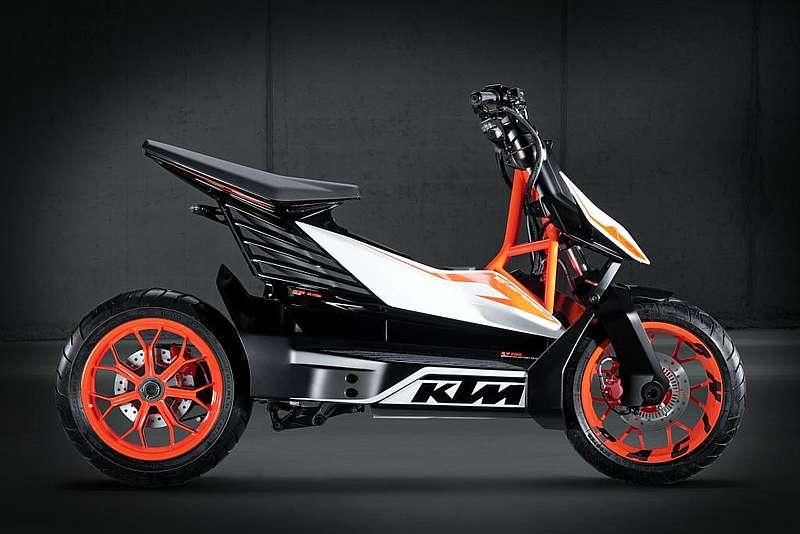 KTM_E-speed_01 elektromos robogó