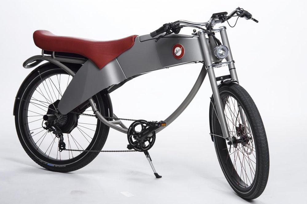 UB-Lohner-Stroler-E-Bike-Moped-komplett-silber